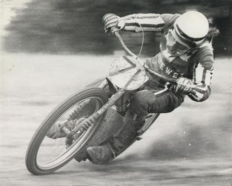 Phil Crump At Romsey Grass Track