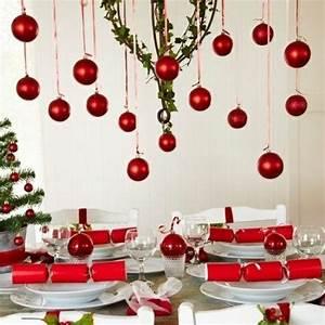 Table De Noel Traditionnelle : 35 id es de d co de table de f te pour no l ~ Melissatoandfro.com Idées de Décoration