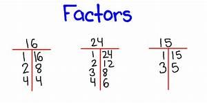 Math-Factors & Multiples/Prime & Composite on Pinterest ...