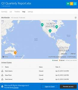 beta azure rms document tracking revocation public With azure document management system