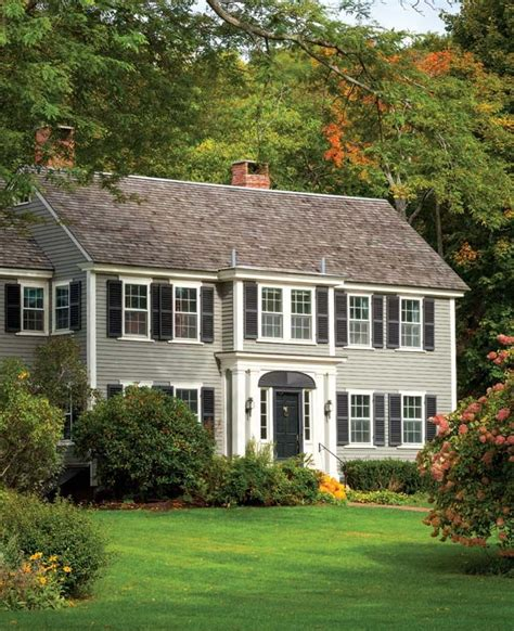 An All American Federal House New england homes