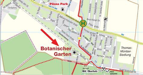 Botanischer Garten Oberholz by Anfahrt Botanischer Garten Oberholz Webseite