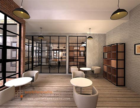int ide sederhana desain interior konsep industrial