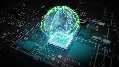 Intelligence Artificial Wallpapers Background Brain Hologram Technology