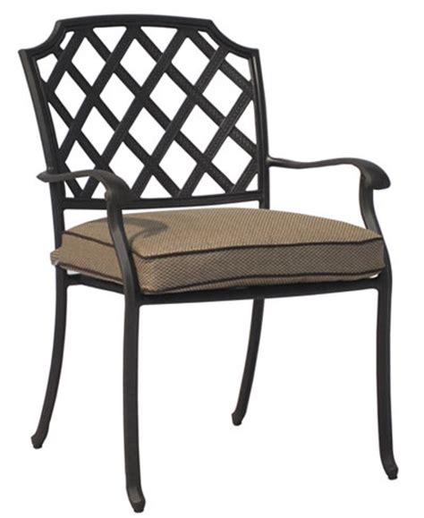 grove hill cast aluminum outdoor dining chair furniture