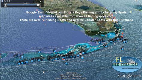 keys florida fishing map maps offshore google spots earth gps georgia areas