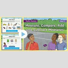 Measure, Compare, Add And Subtract Lengths  New 2014 Curriculum