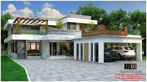 contemporary house  kerala kerala model home plans