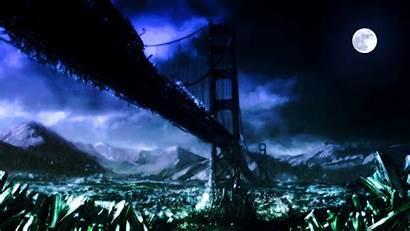 Tiberium Bridge Scrin Lifeforms Threat Ultimate Infested