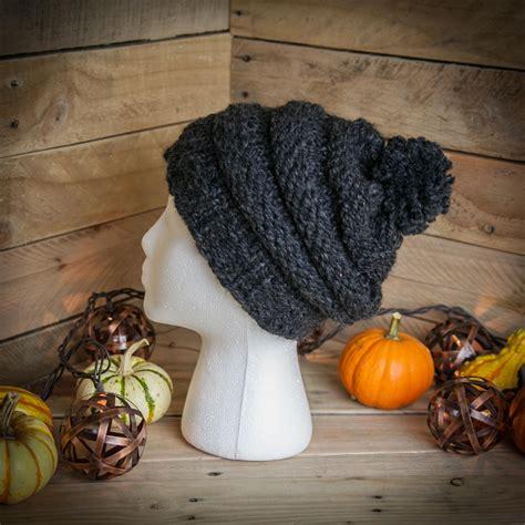 loom knit hat pattern city storm urban style hat