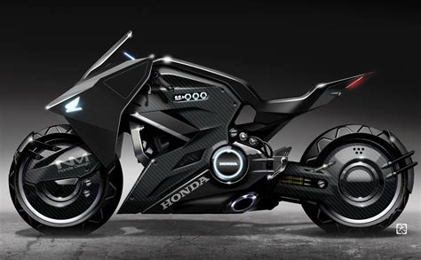 Futuristic Motorcyle : Futuristic Honda Motorcycle To Star In 'ghost In The Shell'