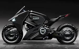 Mc Concept : futuristic honda motorcycle to star in ghost in the shell ~ Gottalentnigeria.com Avis de Voitures