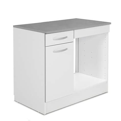 meuble de cuisine pour four meuble de cuisine pour four avec porte et tiroir 100cm