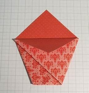 Pochette Cadeau Papier : tuto de la pochette cadeau en origami papeterie ~ Teatrodelosmanantiales.com Idées de Décoration