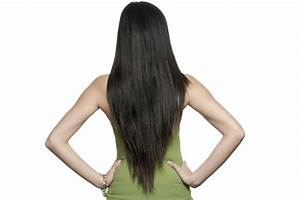 Long Layered Hairstyles - V-Shape Cut
