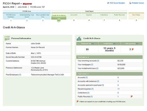 trans union credit bureau sle credit report transunion credit reports