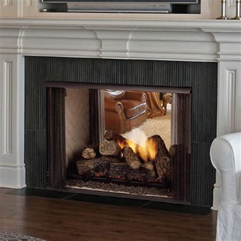 images  double sided fireplace  pinterest