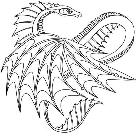 coloring pages  coloring pages  mandalas dragon