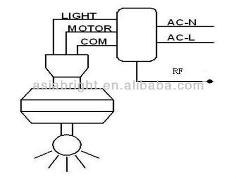 Fan Receiver Wiring Diagram by Rf Wireless Ceiling Fan Reversing Remote With