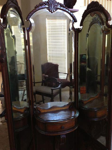 3 way vanity mirror three way mirrors early 1900s vanity 3 way mirror and