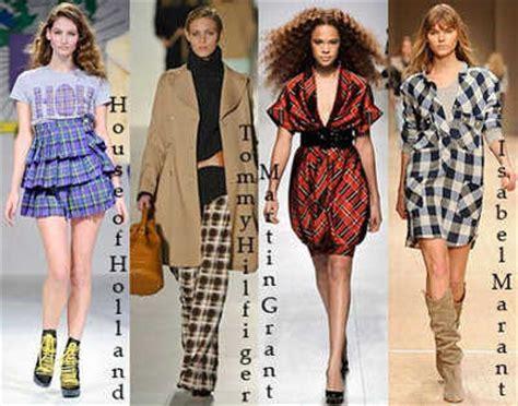 Tendencia En Ropa A Cuadros  Web De La Moda