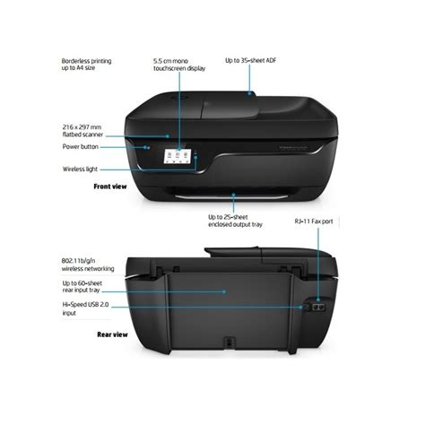 This printer gives you the best chance to print from your smartphone or tablet devices. HP DeskJet Ink Advantage 3835 All-in-One Printer (F5R96B) Mobile/Home Printing