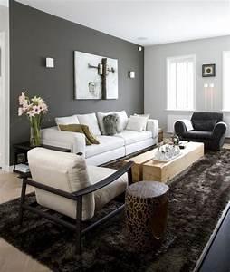 Graue Couch Wohnzimmer : farbideen f rs wohnzimmer w nde grau streichen ~ Michelbontemps.com Haus und Dekorationen