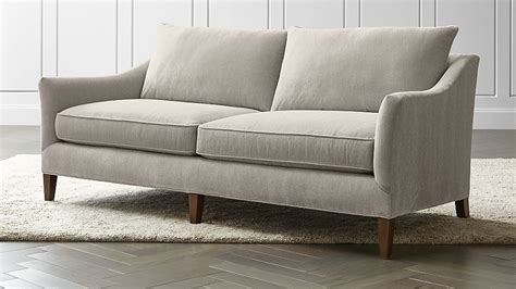 And Barrel Apartment Sofa by Keely Apartment Sofa Crate And Barrel