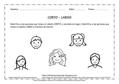 FICHAS DE EDUCACIÓN PREESCOLAR: FICHAS DE CONCEPTOS