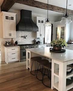 35, Beautiful, Farmhouse, Chic, Kitchen, Decor, Ideas, Kitchendecoridea