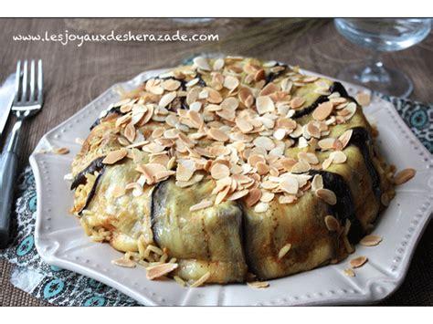 cuisine syrienne aubergine el maklouba aux aubergines المقلوبة بالباذنجان les joyaux de sherazade