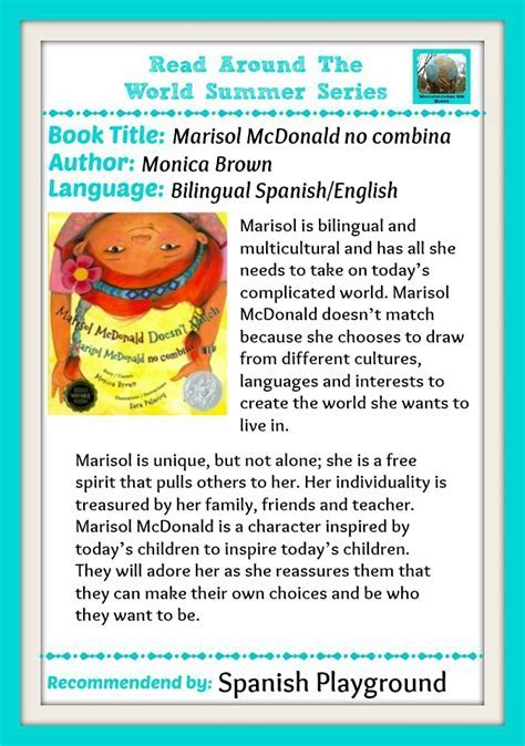 Multicultural Kid Blogs Summer Reading Series   Spanish