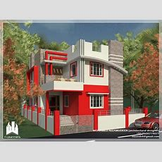 Contemporary Style House Design At 1375 Sqft