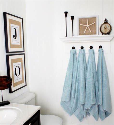 bathroom towel hanging ideas 17 best images about hanging towel solutions on
