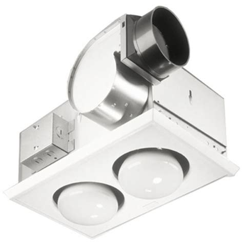 Bathroom Heat Light Bulb by Bathroom Fans Broan Single Bulb Heater