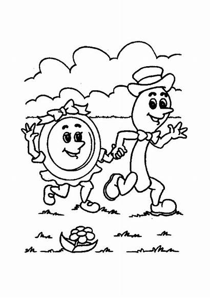 Nursery Rhymes Coloring Pages Printable Sheets Activity