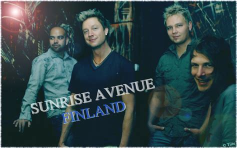 sunrise avenue finland media