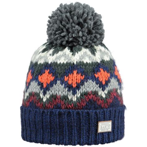 matching knit beanie barts torget beanie mens ski hat in navy