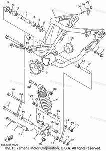 Yamaha Motorcycle 2001 Oem Parts Diagram For Rear Arm