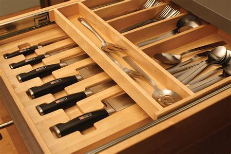 kitchen knife drawer organizer kitchen cutlery storage dura supreme cabinetry 5288