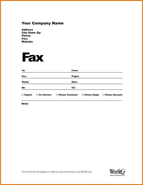 Cover Sheet Template Resume Fax Cover Letter Template Courseworkexles X