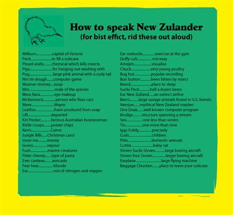 How To Speak 'new Zulander' Flatcapsandbackpack