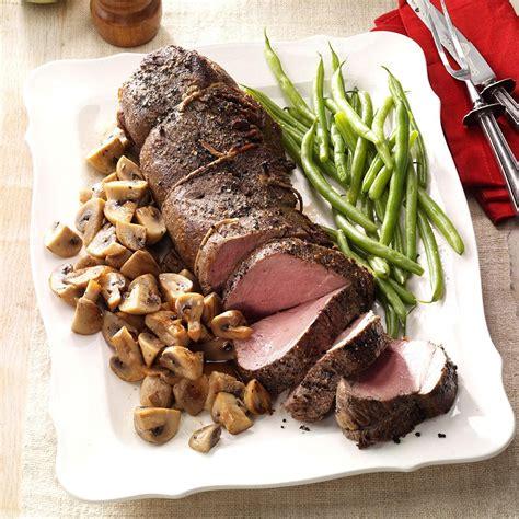 See more ideas about beef tenderloin, tenderloins, beef recipes. Pepper-Crusted Beef Tenderloin with Mushrooms Recipe: How ...