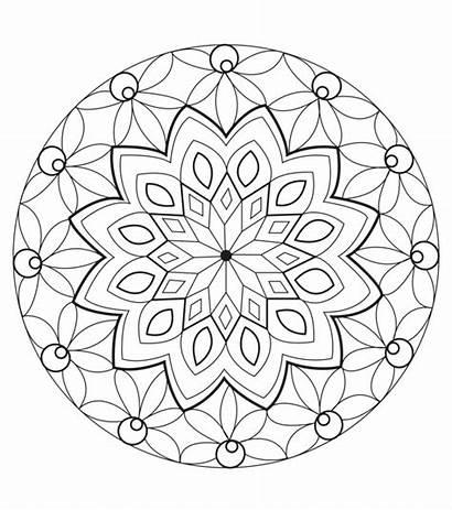 Coloring Mandala Pages Unique