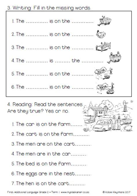 grade 2 english fal learning to read and write book term 1 187 my klaskamer deur kobie kleynhans