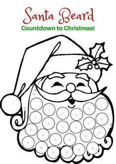 Deer Lollipop Cover Template Pdf by Christmas Craft Santa S Beard Advent Calendar Advent