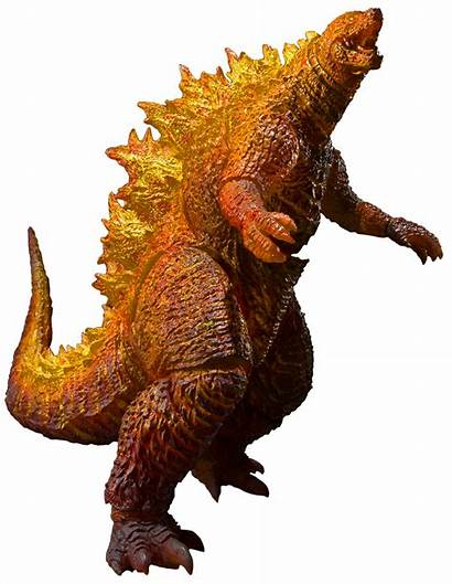 Godzilla Burning Monsterarts Bandai Collectible Monster Anime