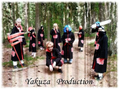 yakuza cosplay production  akatsuki  yakuzaproduction