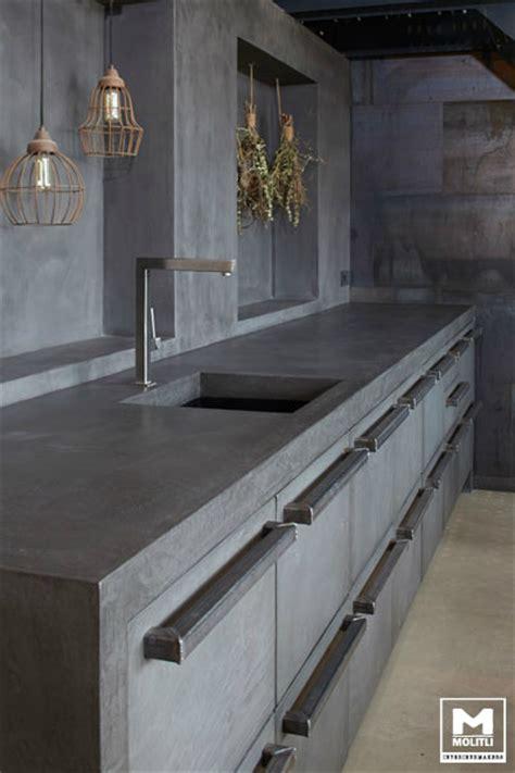 concrete kitchen design decoholic