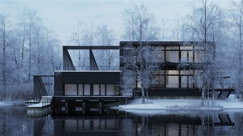 scandinavian house making of nordic house 3d architectural visualization rendering blog
